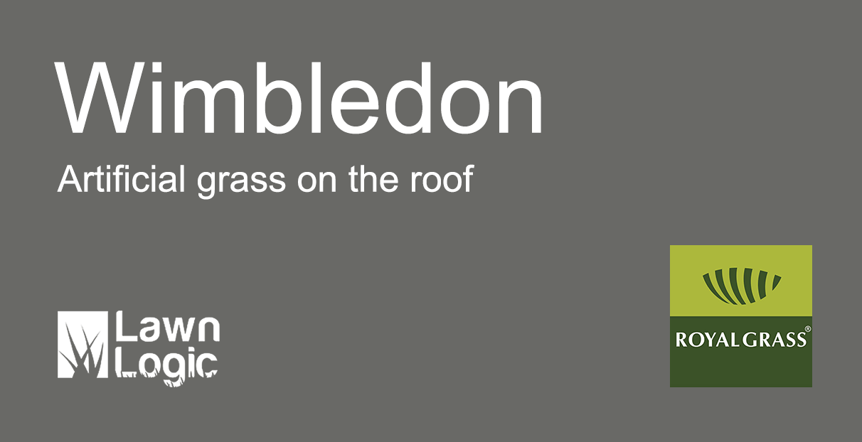 grass on the roof at Wimbledon