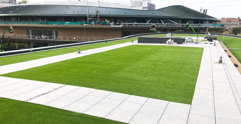 Wimbledon lawn roof